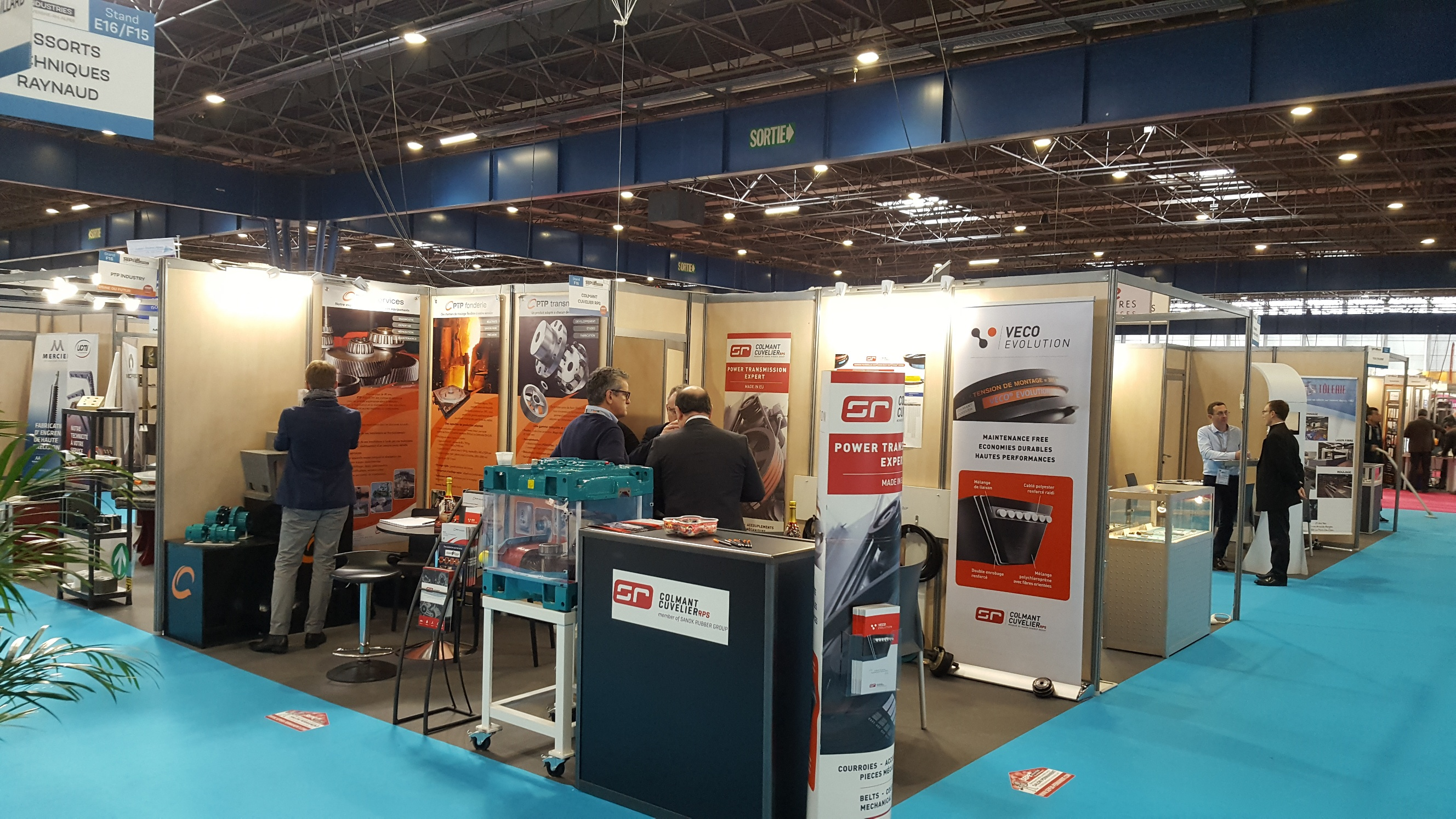 PTP INDUSTRY is at the SEPEM Trade Fair in Grenoble with our Partner Colmant Cuvelier RPS