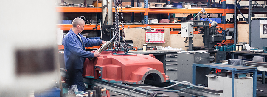 PTP INDUSTRY Gearboxes maintenance and repairs